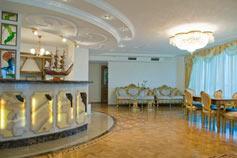 Отель Шестой элемент. Гостиная