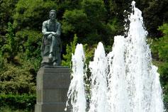 Ялта. Памятник Чехову