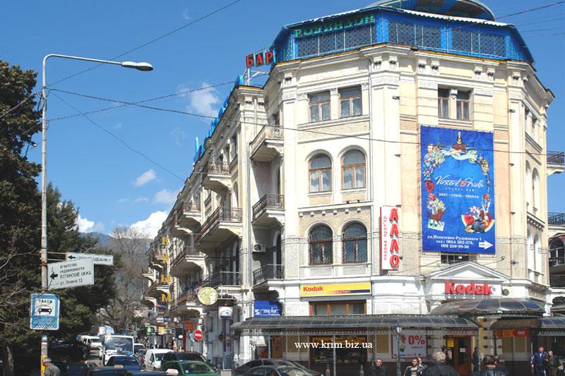 Ялта. Гостиница (отель) Крым