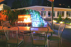Гостиница Престиж в Ялте. Территория