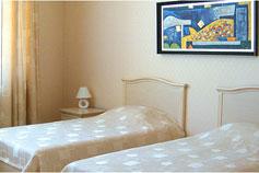 Гостиница Спарта в Ялте. Номер  Стандарт