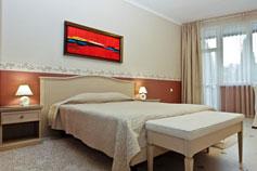 Гостиница отель Спарта в Ялте. Номер Эконом