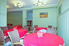 Гостиница Спарта в Ялте. Кафе