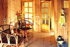 Гостиница отель Спарта в Ялте. Сауна