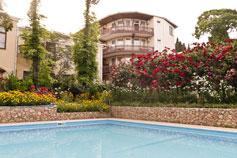 Гостиница Спарта в Ялте. Территория