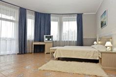 Гостиница Спарта в Ялте. Номер Apartments