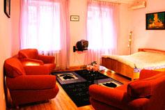 Гостиница отель Спарта в Ялте. Номер Полулюкс