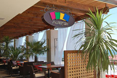 Гостиница Ялта Интурист в Ялте. Пляжное кафе Диван Sea Lounge