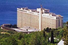 Гостиничный комплекс Ялта Интурист. Фасад