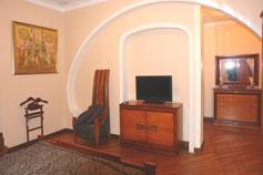 Гостиница отель Марино на набережной Ялты. Пятикомнатный Апартамент Лазурный