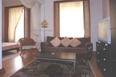 Гостиница отель Марино на набережной Ялты. Двухкомнатный Люкс Жемчужина - 1