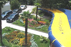Гостиница Ротонда в Ялте. Территория
