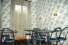 Гостиница У Лещинской в Ялте. Кафе