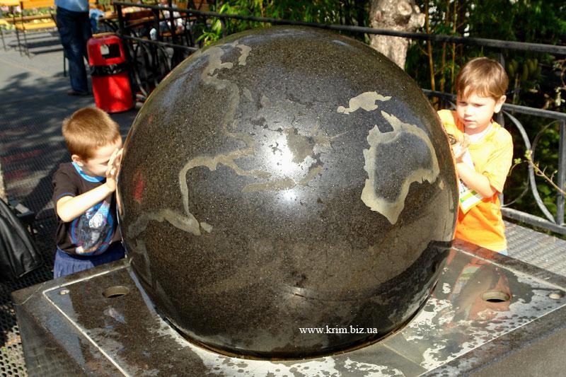 Ялтинский зоопарк Сказка. Глобус